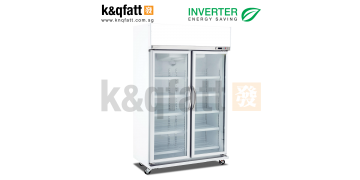 Kerry 2 Doors Swing Glass Chiller Inverter