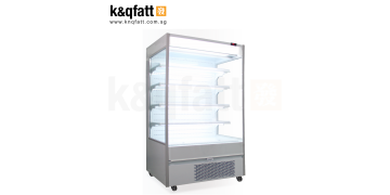 4-FT Plug-in Open-case Chiller (White)