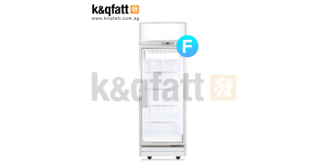 YUDA 1 Door Swing Glass Freezer