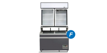 Plug-in Combined Freezer 2-doors (Compact)