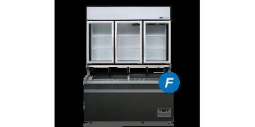 Plug-in Combined Freezer 3-doors (Compact)