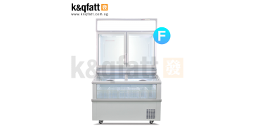 Plug-in Combined Freezer 4-ft