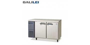 FUKUSHIMA GALILEI Stainless Steel Under-counter 2-doors freezer
