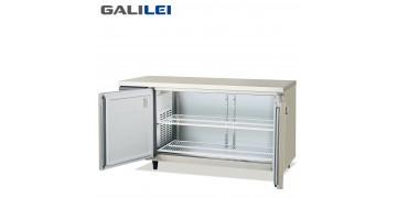FUKUSHIMA GALILEI Stainless Steel Under-counter 2-doors Chiller Pillarless