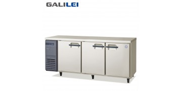 FUKUSHIMA GALILEI Stainless Steel Under-counter 3-doors freezer