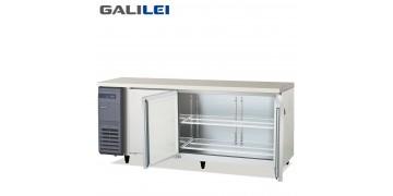 FUKUSHIMA GALILEI Stainless Steel Under-counter 3-doors Chiller Pillarless