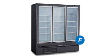 3 Doors Plug-in Swing Glass Door Freezer