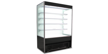 4-FT Plug-in Open-case Chiller Classic Black