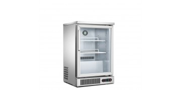Single Glass Door Counter Chiller