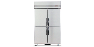 YUDA Stainless Steel Upright 4 Doors Freezer