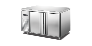 YUDA 4 Ft Freezer Undercounter Stainless Steel (750mm Depth)