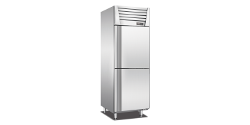 Stainless Steel Upright 2 Doors Chiller