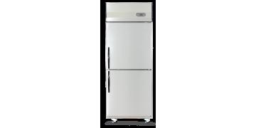 YUDA Stainless Steel Upright 2 Doors Freezer