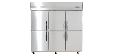 YUDA Stainless Steel Upright 6 Doors Chiller