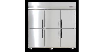 YUDA Stainless Steel Upright 6 Doors Freezer
