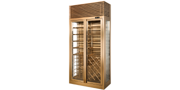 2-doors Glass Wine Chiller